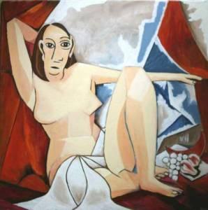 La demoiselle de Picasso