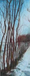 Door de bomen het bos VIII