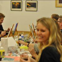 creatieve kunstworkshop teambuilding op locatie Galerie Beeldend Gesproke