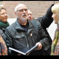 Rondleiding De Hallen Amsterdam start locatie Galerie Beeldend Gesproke