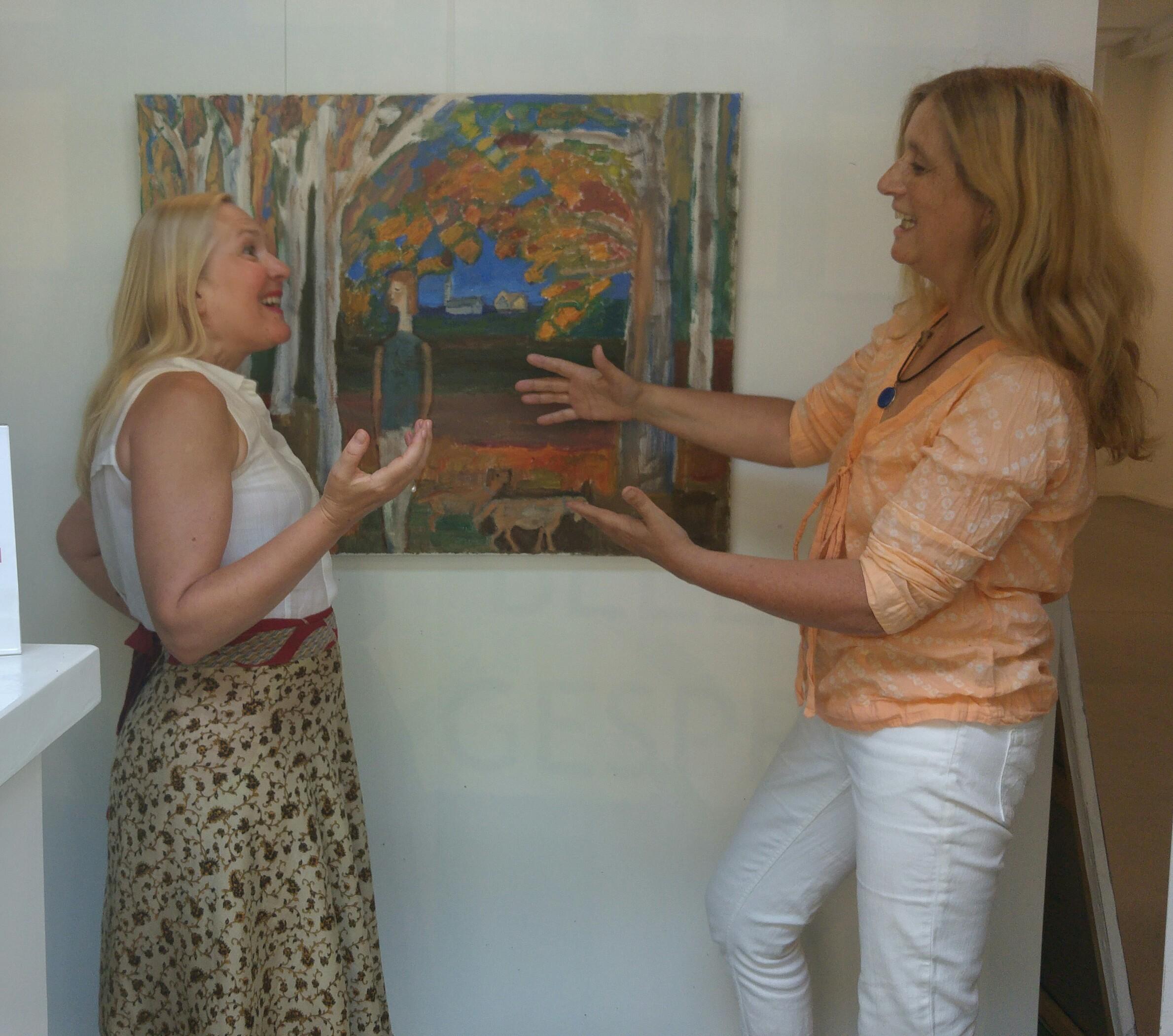Gallery Talk 7 Rooms Of Escapism Beeldend Gesproken Artotheek